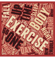 It s My Body I ll Exercise It If I Have To text vector image vector image