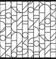 minimal seamless pattern with bw geometric vector image