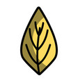 natural leaf to ecology preservation icon vector image