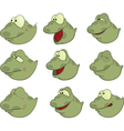 Set of Tadpoles Cartoons vector image