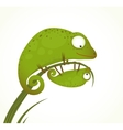 Two Lizards Mother and Baby Childish Animal vector image vector image