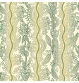 hand draw ornate floral seamless wallpaper vector image