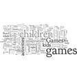 best free child games for your preschooler vector image vector image