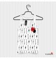 Print for T-shirt - fashion vector image vector image