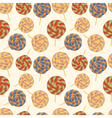 Seamless pattern with Lollipops vector image