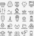 set seo and internet service icons - part 3 vector image