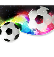 Soccer abstract background vector image vector image