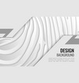 white and grey paper line - abstract texture vector image
