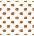 barrel of beer pattern cartoon style vector image