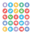 Communication Icons 1 vector image