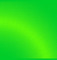 green abstract halftone dotted background pattern vector image vector image