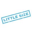 Little Size Rubber Stamp vector image vector image