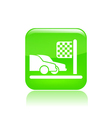 race icon vector image vector image