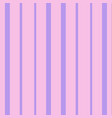 Vertical violet and pink stripes print