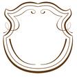 elements for design decorative frame vector image