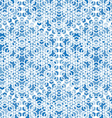 abstract blue mosaic background vector image vector image