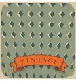 circus retro background vector image vector image