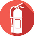 Fire Extinguisher Icon vector image vector image