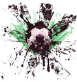 Grunge Soccer4 vector image vector image
