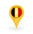 Location Belgium vector image