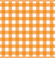 orange tablecloth pattern design vector image vector image