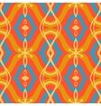 Pattern with Arabic motifs in vibrant colors vector image