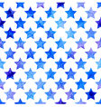 seamless pattern with watercolor stars vector image vector image
