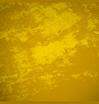 yellow grunge background vector image