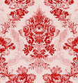 16 Abstract hand-drawn floral seamless pattern vector image