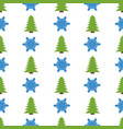 christmas semless pattern vector image vector image