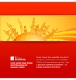 Industrial World banner vector image vector image