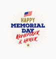Memorial day - national american holiday