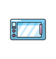 microwaves technology kitchen utensil object vector image