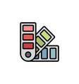 pantone flat icon sign symbol vector image