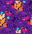 abstract seamless pattern with strokes dots and vector image