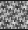 black and white rhombus tweed seamless pattern vector image vector image