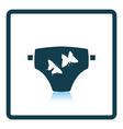 Diaper icon vector image
