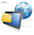 Electronic Payment Concept vector image