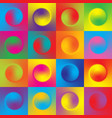 seamless colorful background with multicolor vector image vector image
