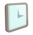 Wall clock icon cartoon style vector image vector image
