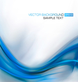 Abstract Blue Elegant Background vector image vector image