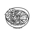 pho icon doodle hand drawn or outline icon style vector image vector image