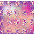 Pink square mosaic effect