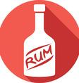 Rum Icon vector image vector image