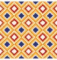 seamless geometric pattern ikat fabric style vector image vector image