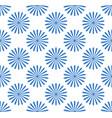 seamless pattern wallpaper with flower motifs vector image