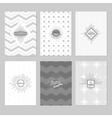 Sunburst Posters Set vector image