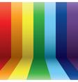 vertical rainbow vector image