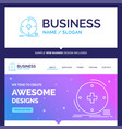 beautiful business concept brand name clinical vector image vector image