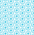 Dala flowers pattern vector image vector image